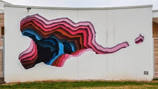 1010 – Mural for Memorie Urbane in Fondi, Italy,2015