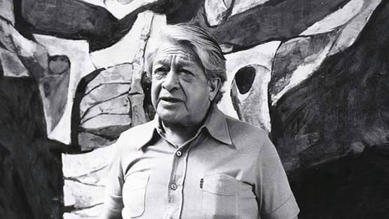 Oswaldo Guayasamin portrait