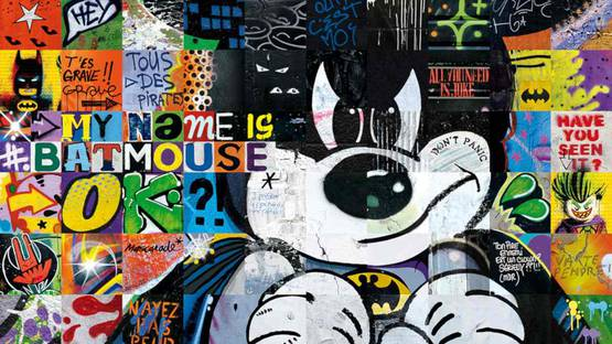ARY KP - My name is Batmouse (detail)