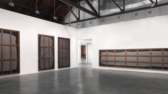 Aaron Bobrow - Electric Bathing #1, 2013, installation view, image courtesy of Andrea Rosen Gallery