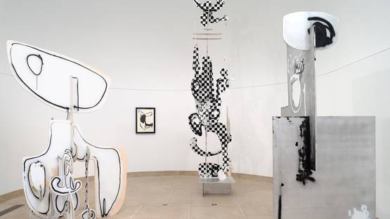 Aaron Curry - Installation at the Hammer Museum, Los Angeles, 2008, photo by Fredrik Nilsen (detail)