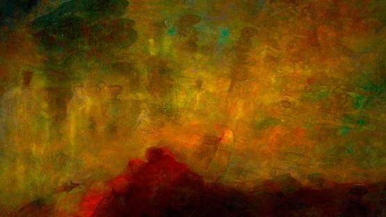 Abdallah Benanteur - Evanescence (detail), 2004 - Imahe Courtesy Galerie Claude Lemand