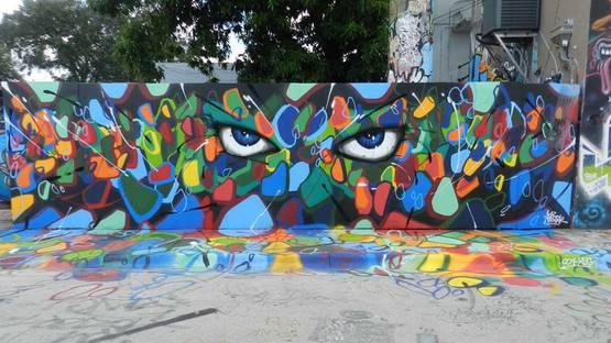 Abstrk - Blanca Nieve, Havana, Cuba