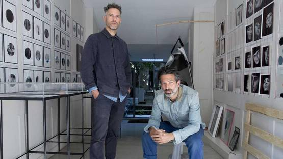 Adam Broomberg and Oliver Chanarin - portrait, photo credits - Ocean Side Post