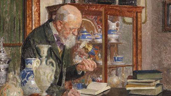 Adolf Reich - The porcelain collector