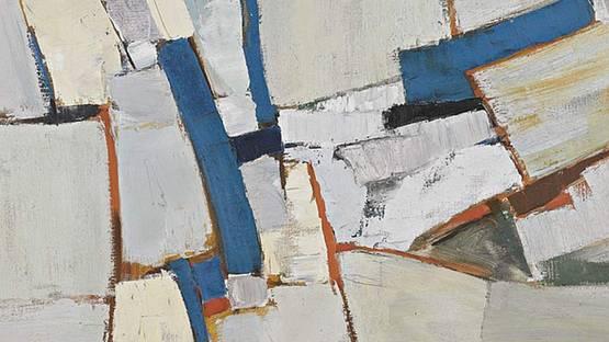 Adrian Heath - Untitled (detail), 1958–1959