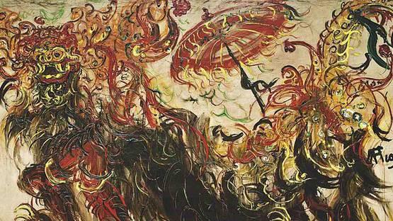 Affandi - Barong Dance, 1970