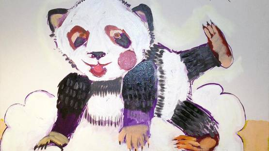 Airom - Pandas are the Future, GRRR, 2014 (detail)