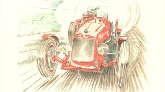 Alain Moitrier - Maserati, 1998 (detail)