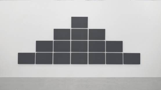 Alan Charlton - Pyramid Grid Painting