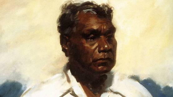 Albert Namatjira - Portrait of the artist by William Dargie,  1956 - Photo Credits Julia Ritson