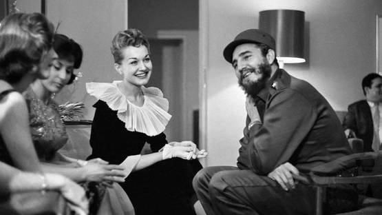 Alberto Korda - Fidel Castro and the radio queens of New York. Wednesday, April 22, 1959 - image courtesy of 1stdibs