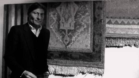 Aldo Mondino - artist - photo credits - Gazzetta Torino