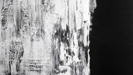 Aleksandra Shatokhina - Black and White Abstract, 2017 (detail)