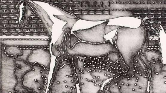 Alena Kucerova - Horse (detail)