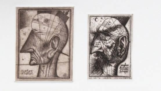 Alexander Brodsky - Four head Composite, 1990 (detail)
