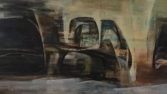 Alexander MacKenzie - Reclining landscape (detail) - 1959 - photo credits - Art Gallery