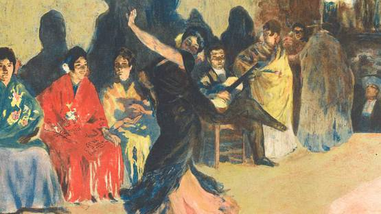 Alexandre Lunois – Les panaderos, 1905 – Image courtesy of Sylvan Cole Gallery