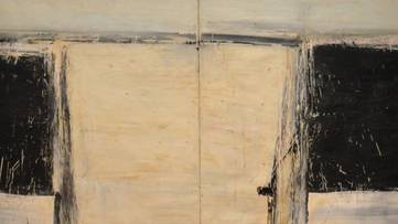 Alfred Leslie - The Second Two-Panel Horizontal (detail) - 1958