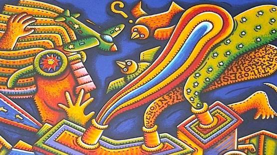 Alfredo Sosabravo - Sueno Infantil No. 7 - Image via latinamericanart