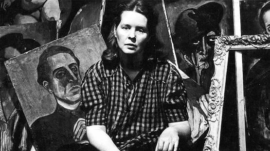 Alice Neel - Portrait - Photo via mubicom