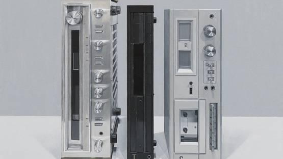 Allan Bennetts - Stereo Stack III, 2020 (detail)