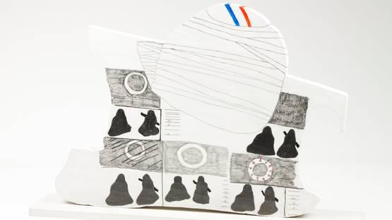 Alvaro Lapa - Untitled (detail) - image via veritasleiloescom