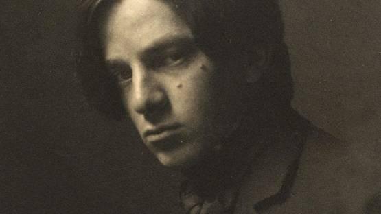 Alvin Langdon Coburn self-portrait, 1905 (detail)