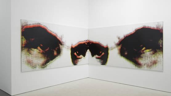 Andisheh Avini - solo show at Marianne Boesky Gallery, New York, 2014, photo credit Jason Wyche
