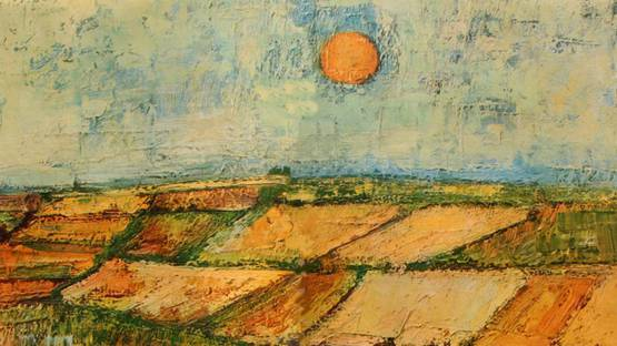 Andre Minaux - Plaine des Ortures (Detail), 1954 - Image Copyright ADAGP