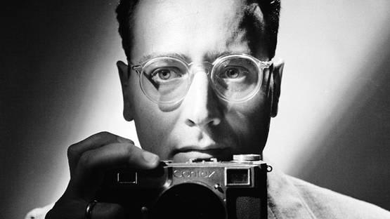 Andreas Feininger self-portrait