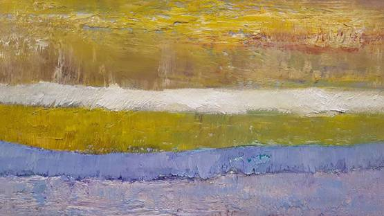Andy Fullalove - Earth Sounds (Yellow), 2018 (detail)