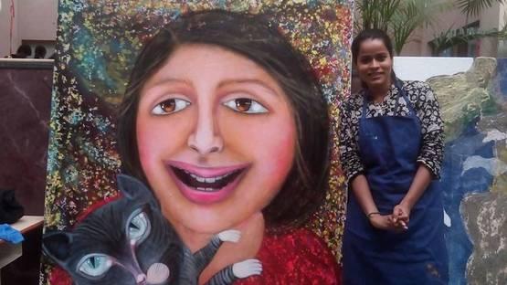 Anjum Khan - portrait