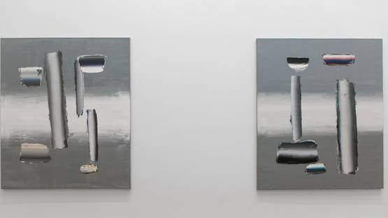 Anna Leonhardt - Installation view, 2016 - image courtesy of Mark Straus gallery