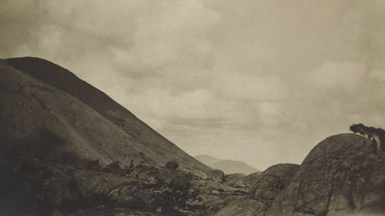 Anne Brigman - Sierran Landscape, 1927 - image courtesy of Phillips