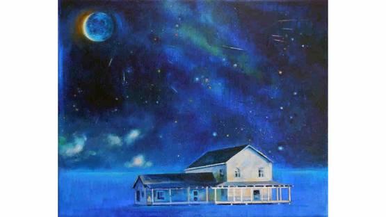 Anne Wolk - Luna azul II