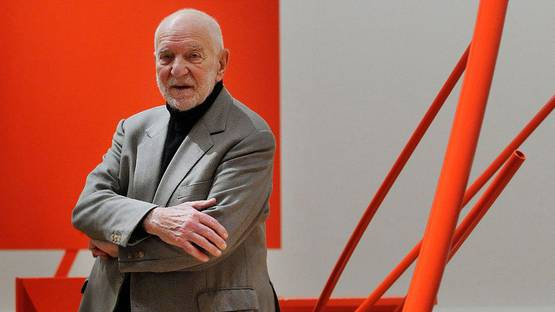 Anthony Caro, artist, photo credits - Independent