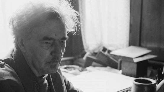 Austin Osman Spare - portrait, photo credits Bert Hardy-Getty images