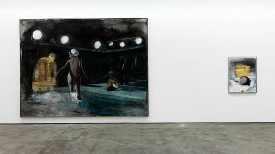Axel Geis, L infinito, 2011, installation view, Wentrup gallery