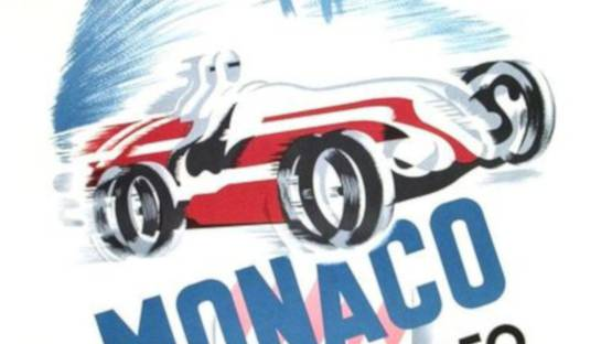 B Minne - Monaco Grand Prix 1950, 1995 (detail)