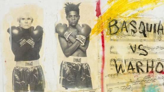 B. Benitez - Basquiat vs. Warhol (detail) - photo credits - Juliens Live