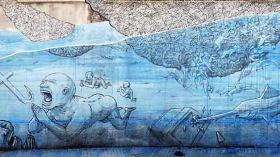 BLU - Mural, Sicily, 2013