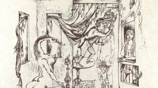Bele Bachem - Alternder Paris zum Muttertag, 1968 (detail)
