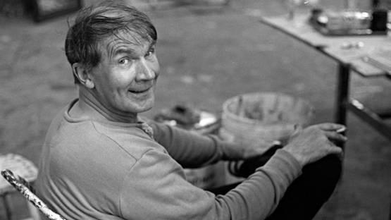 Bengt Lindstrom - Artist, photo Bjorn Grankvist