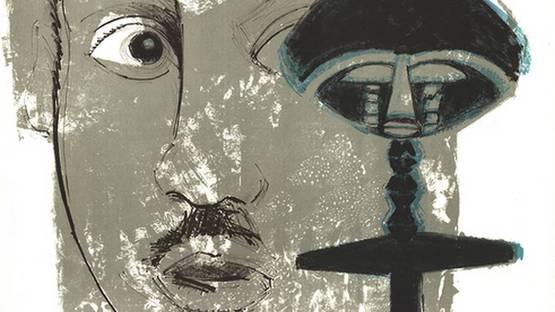Bernard Lorjou - Homage to Martin Luther King