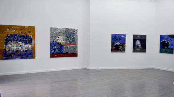 Bernard Louttre - Gallery view - Image courtesy of Sylvan Cole Gallery