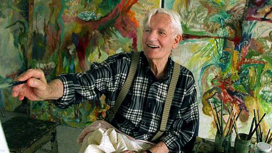 Bernard Schultze - Portrait of the artist, photo credits Swr.de