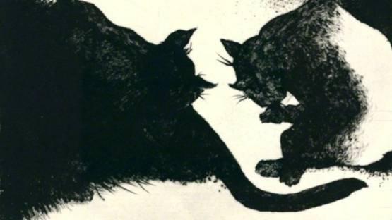 Bernd Rose - Nightcats, 1997 (detail)