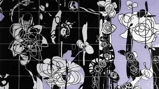 Bethan Ash - Rhosyn Du - Black Rose (detail)