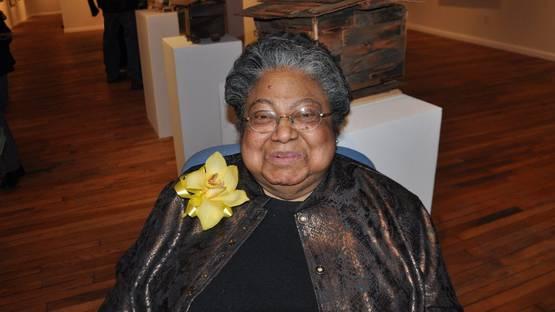 Beverly Buchanan - Photo of the artist - Image via nnamdicenter